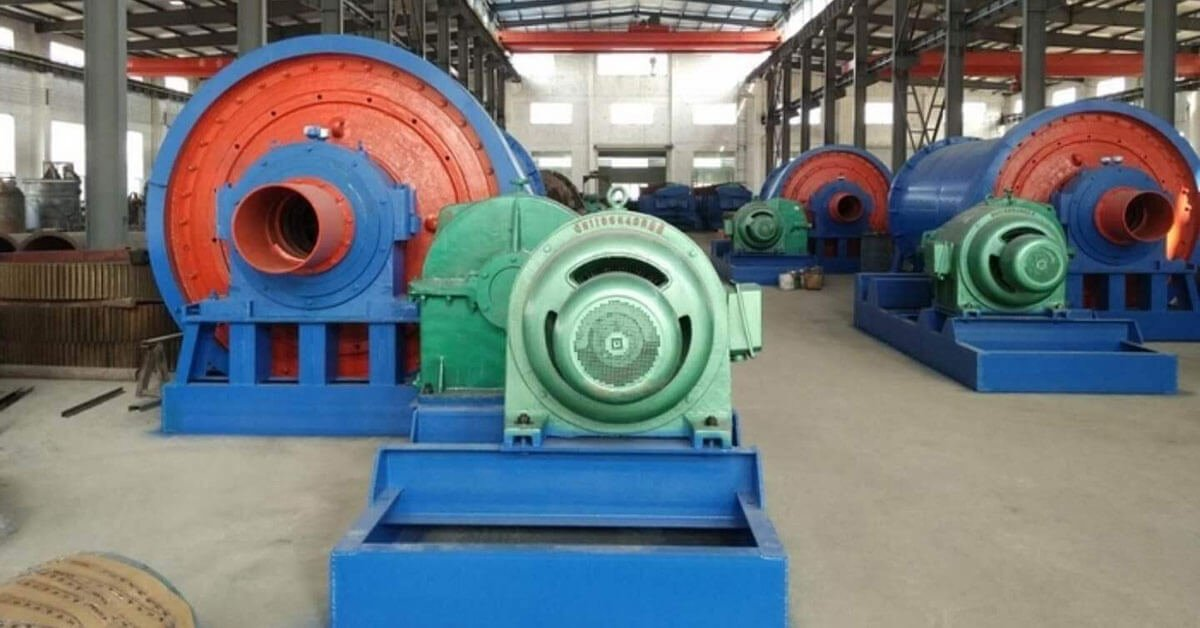 Coal ball mill project