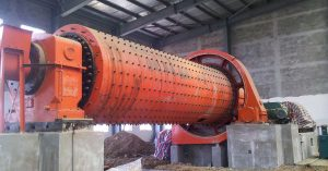 Ball mill machine in India cement plant