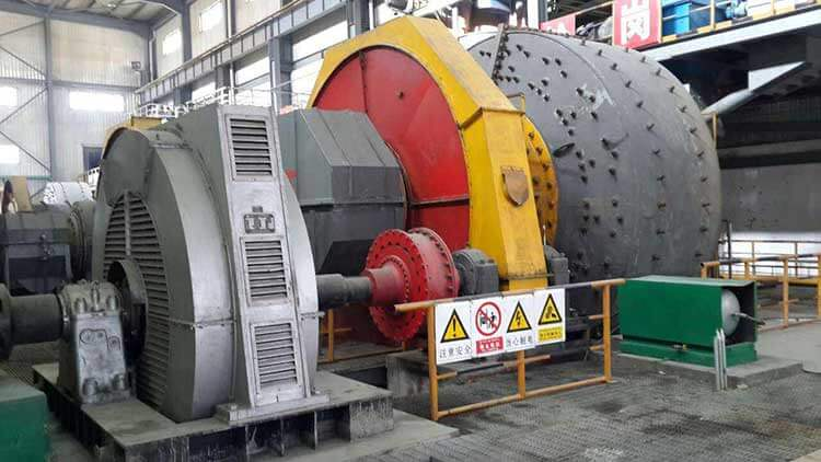 SAG mill for mineral processing