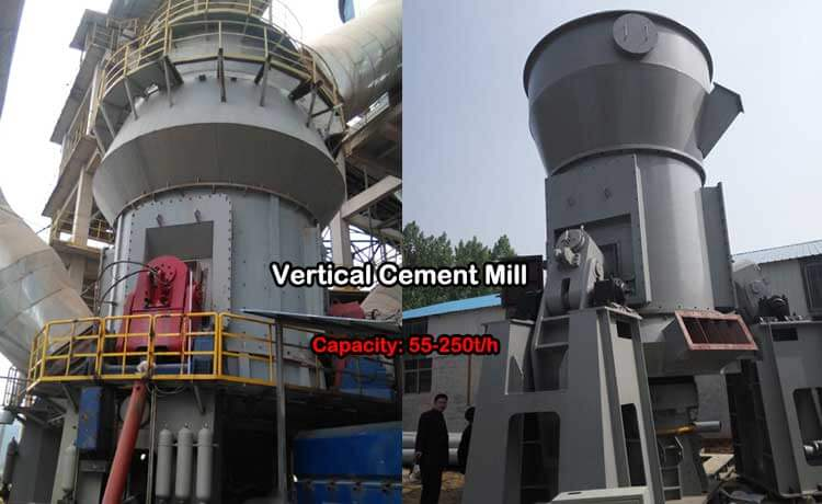 This is VRM cement mill
