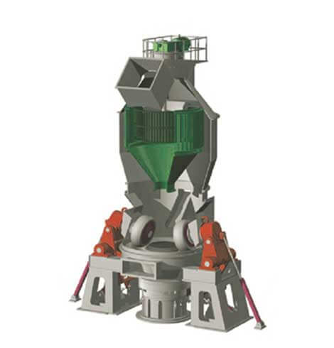 This is ordinary vertical roller mill