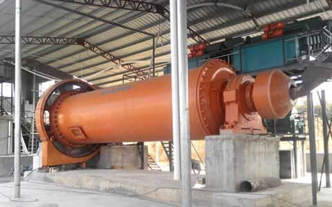 The rod mill for chemical industry