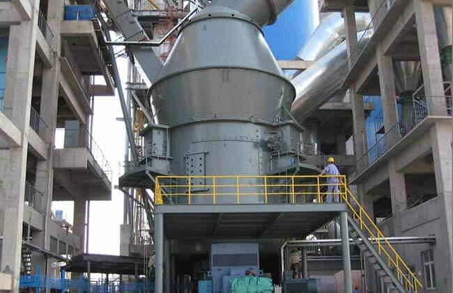 This is vertical cement mill