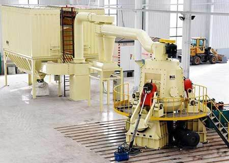 This is a vertical coal mill for pulverized coal project