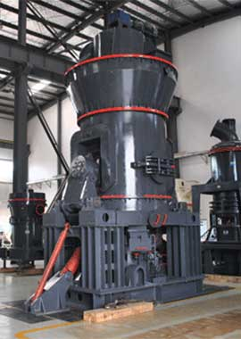 Vertical raw mill for limestone grind