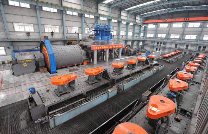 Ball mill in non ferrous metal flotation production line