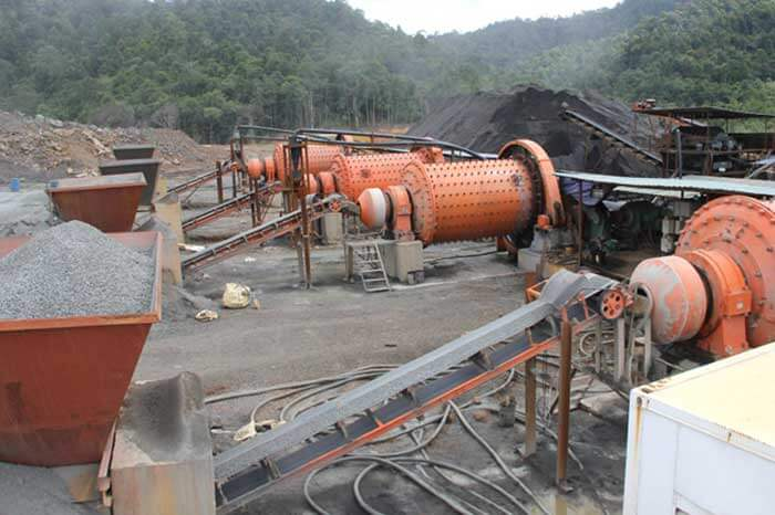 Rod mill and ball mill for mineral grinding