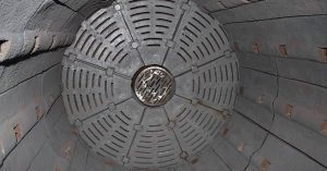 Ball mill liners inside of the ball mill