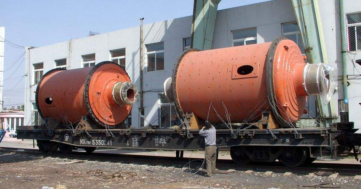 Ball mill and rod mill