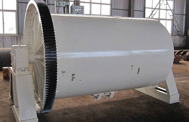 This is batch ball mill