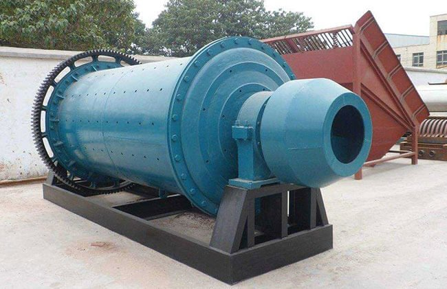 This is a continuous ball mill