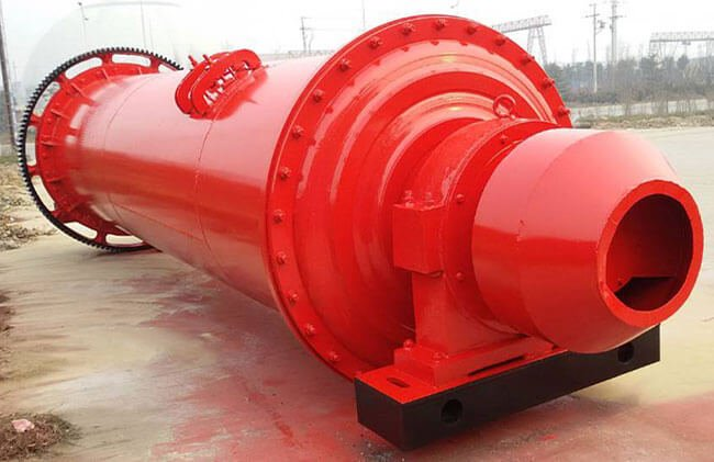 This is dry ball mill