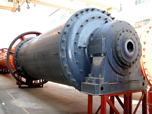 Dry grinding ball mill