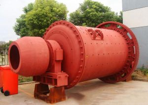 This is overflow ball mill
