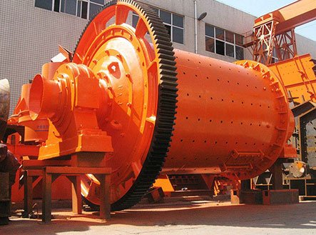 Overflow discharge ball mill