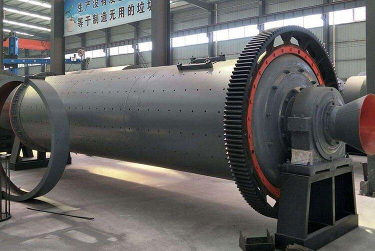 2000L large horizontal ball mill