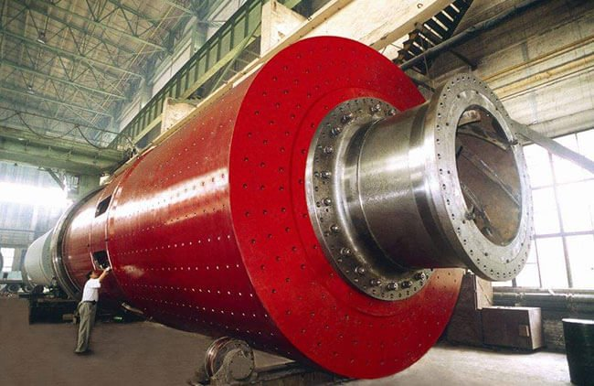 This is a cement ball mill