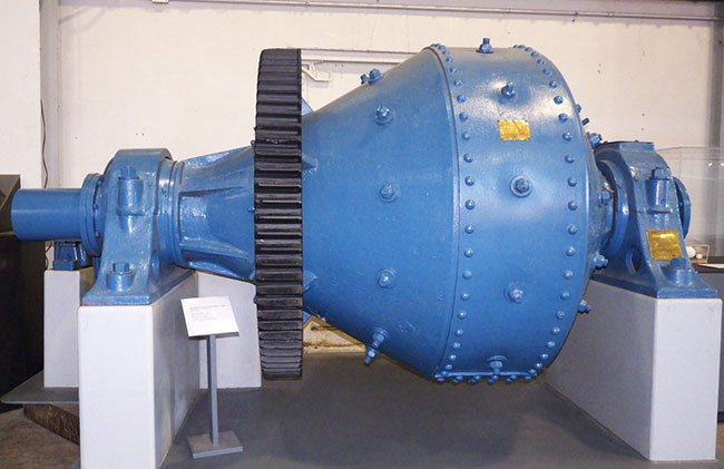 This is a conical ball mill