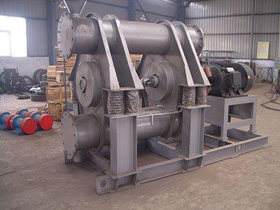 Double tubes vibration ball mill
