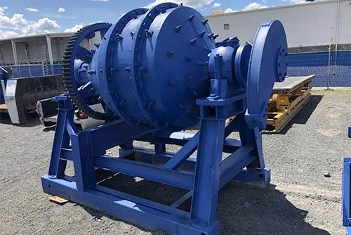 Dry conical ball mill