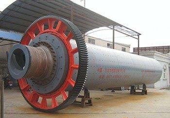 Dry type rotating ball mill