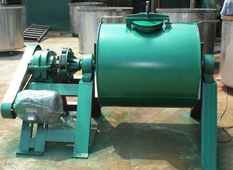 Horizontal ball mill project