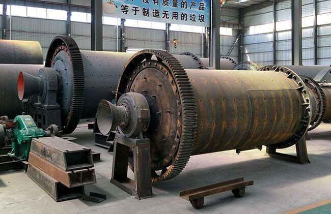 They are horizontal ball mills