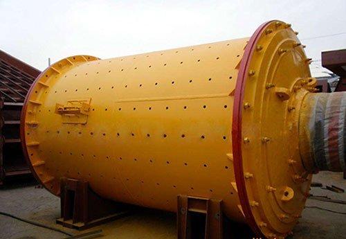 Large horizontal ball mill