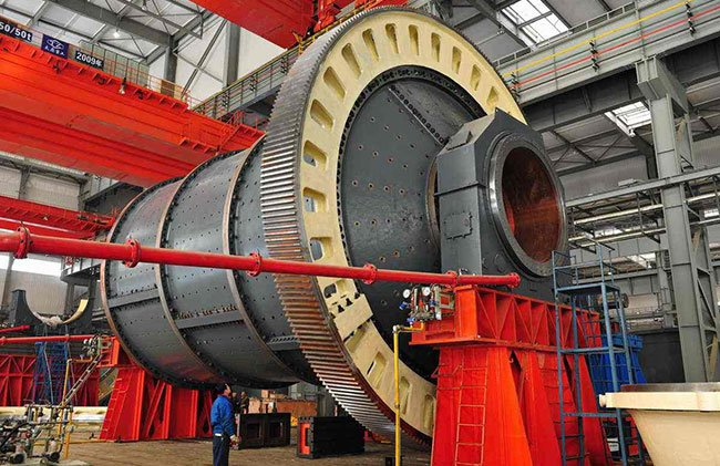 This is a ore ball mill
