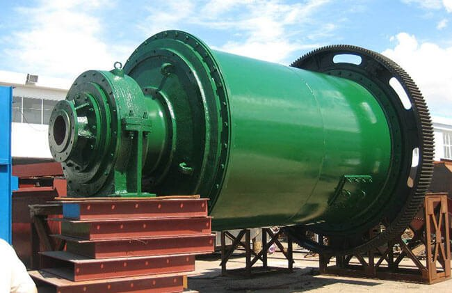 This is a rotary ball mill