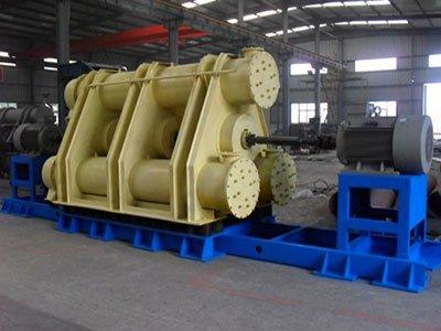 Three tubes vibration ball mill