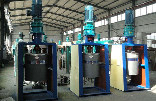 These are vertical ball mills