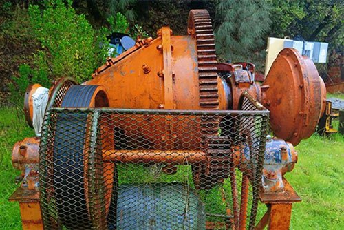 Wet conical ball mill