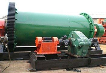 Wet type rotary ball mill