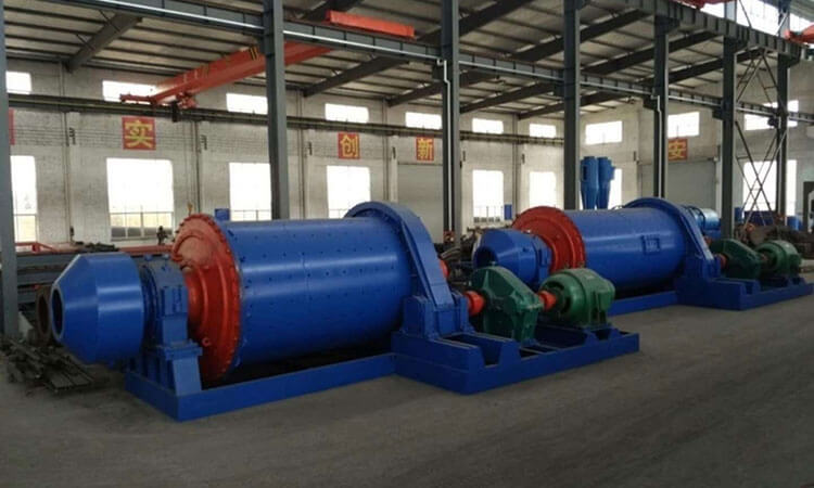 Working principle of rotary ball mill