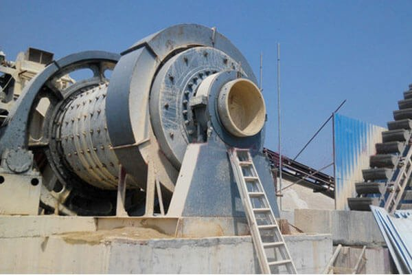 This is a sand ball mill