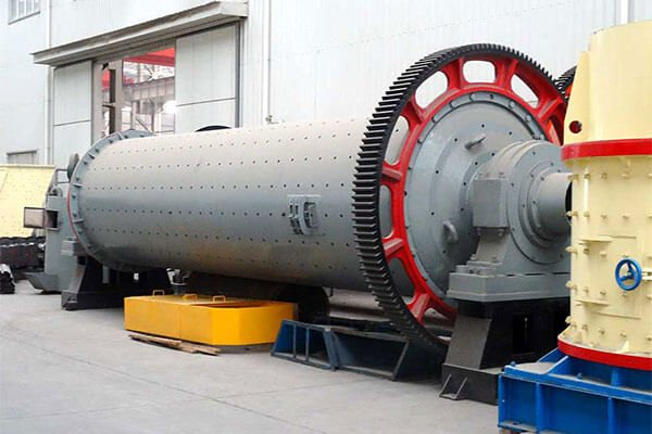 This is a steel slag ball mill