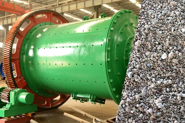 Water-Granulated Blast Furnace Slag Ball Mill