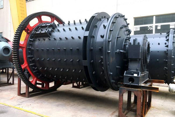 This is a blast furnace slag ball mill