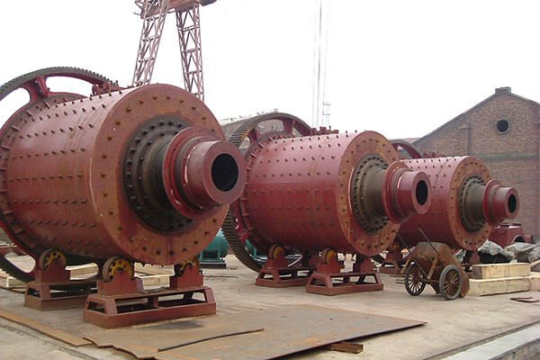 They are coal water slurry ball mills