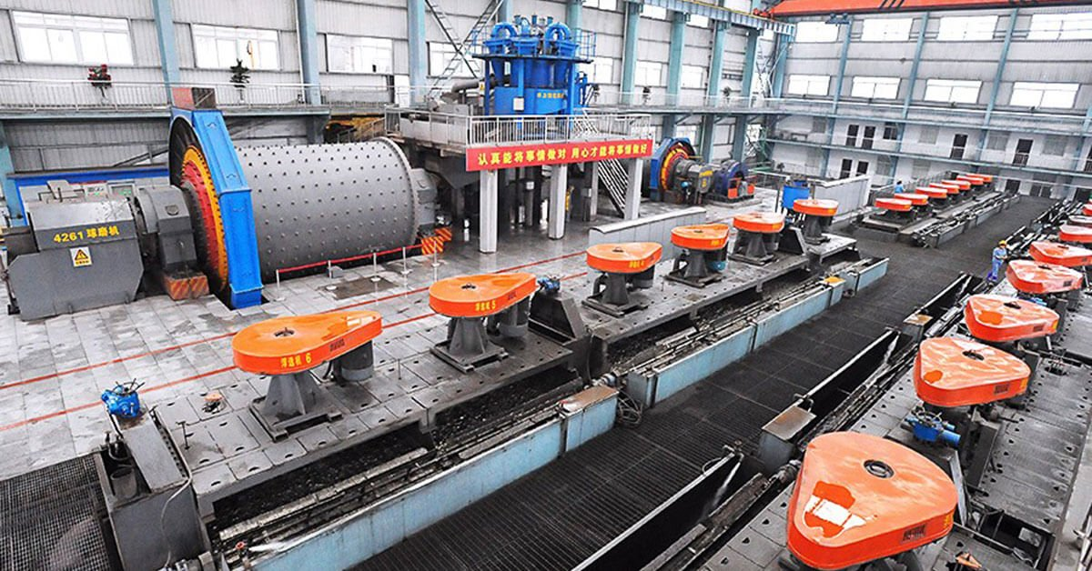 Ball mill for copper mining
