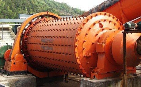Silver ore ball mill