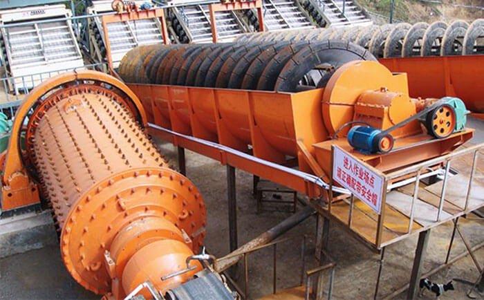 Silver ore processing plant