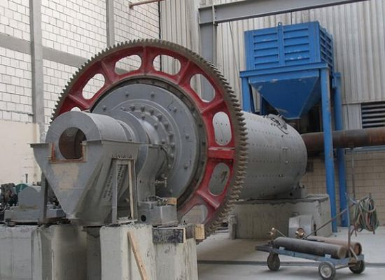 This is a coal ball mill