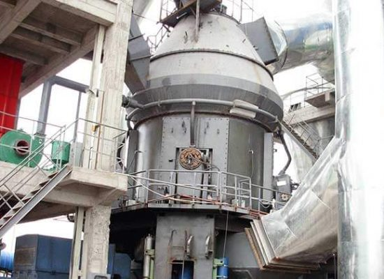 This is a vertical coal mill