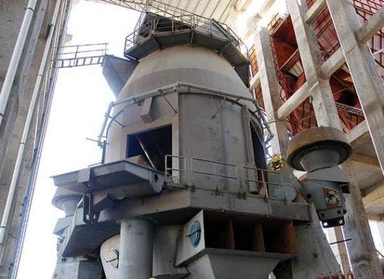 This is a vertical raw mill
